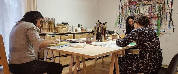 Faut-il savoir dessiner pour faire un travail en art-thérapie?